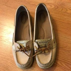 Sperry Topsider boatshoes, women's 11